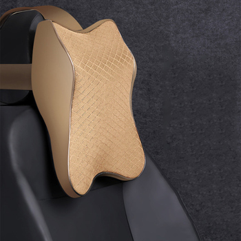 Adjustable Car Neck Pillow 3D Memory Foam Head Rest Auto Headrest Pillow Travel Neck Cushion Support Holder Seat Saft Pillow New baby pillow ligth weight comfortable multi color cartoon u shaped neck travel pillow automatic neck support head rest cushion