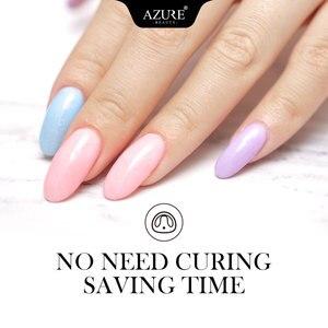 Image 4 - AZURE BEAUTY Новейший цветной порошок для дизайна ногтей, порошок для украшения, градиентный цвет, блестящий порошок для ногтей, 24 цвета, s Dip Powder