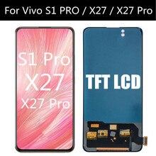 6.39インチ液晶用S1プロ/X27 proのlcdディスプレイタッチスクリーンデジタイザアセンブリの交換生体内X27液晶
