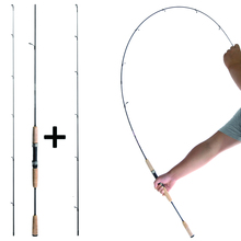 UL or L spinning rod 1.8m 0.8-5g 2-6g lure weight ultralight carbon rods 2-8LB line ultra light extra fast bass pole