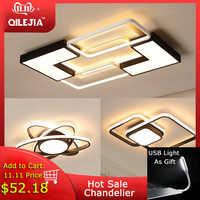 Modern LED Chandeliers For Living room Bedroom Kitchen Luminaries LED Ceiling Mounted Chandelier Lightings chandelier lamp