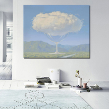 Wallpaper Surrealism Nordic Poster Canvas Painting Print Living Room Home Decoration Modern Wall Art Oil Painting Poster Picture цена и фото