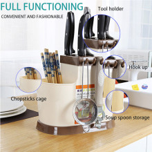 Multifunctional Storage Chopsticks Tube Drain Sink  Kitchen storage chopsticks cage drain rack A1