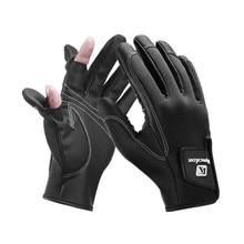 Gants de pêche 3 doigts, multifonctionnels, antidérapants, durables, chauds, pour la pêche en plein air, automne et hiver