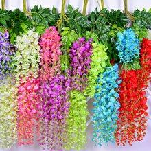 12 pieces Wedding Flowers artificial flowers wisteria flower for the bride decor