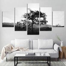 Постер черно белая минималистическая декоративная картина на