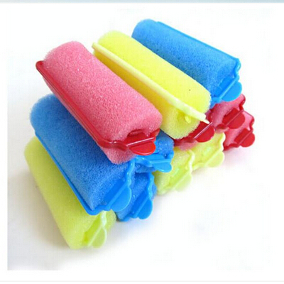 Barber Hairdressing Hairstyling Twist Tools Kit Buckle Soft Sponge Foam Hair Curler Roller Easy Curling Styling Salon