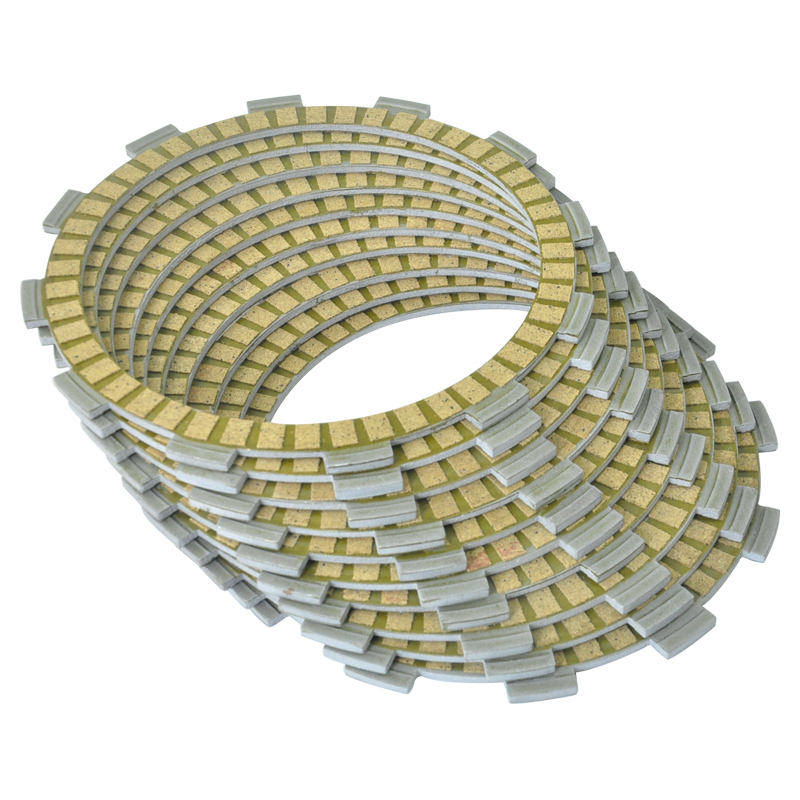 9pc Motorcycle Friction Clutch Plates for Honda VF1000F Interceptor VT1100 Shadow VF1000R Motorbike Engines Parts Set - title=