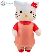 Adult Inflatable Clothing Heart Angel kt Cat Doll Fantasy Party Superhero Halloween Carnival Costume
