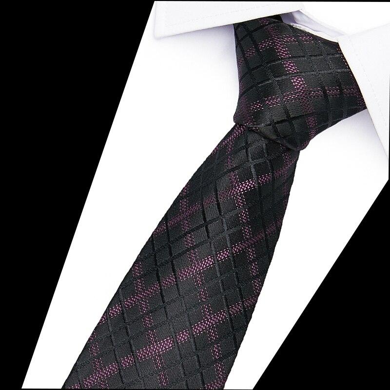 Hot Sale 6cm Neck Ties For Men 100% Silk Wedding Accessories Slim Fashionable Neckties Man Party Business Formal Lot