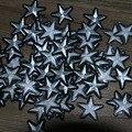 Серебро 20 штук звезда патч DIY аксессуары DIY Одежда Швейные принадлежности
