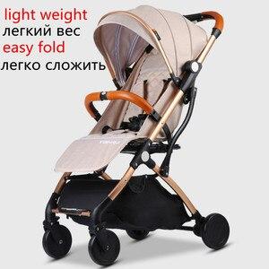 Image 4 - Baby Kinderwagen Leichte Reisetasche
