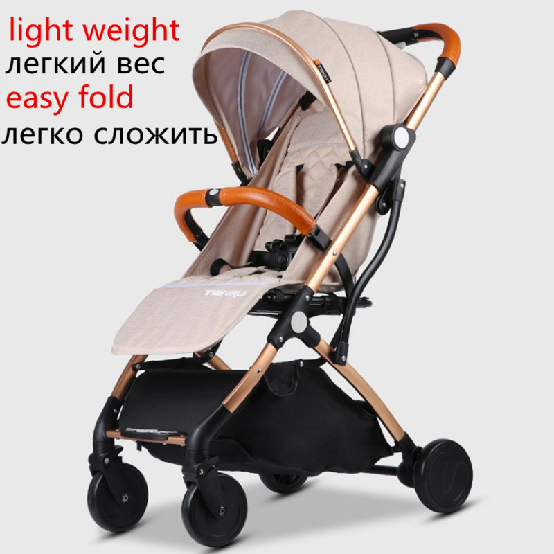 Image 3 - Baby Stroller Lightweight Travel-in Four Wheels Stroller from Mother & Kids