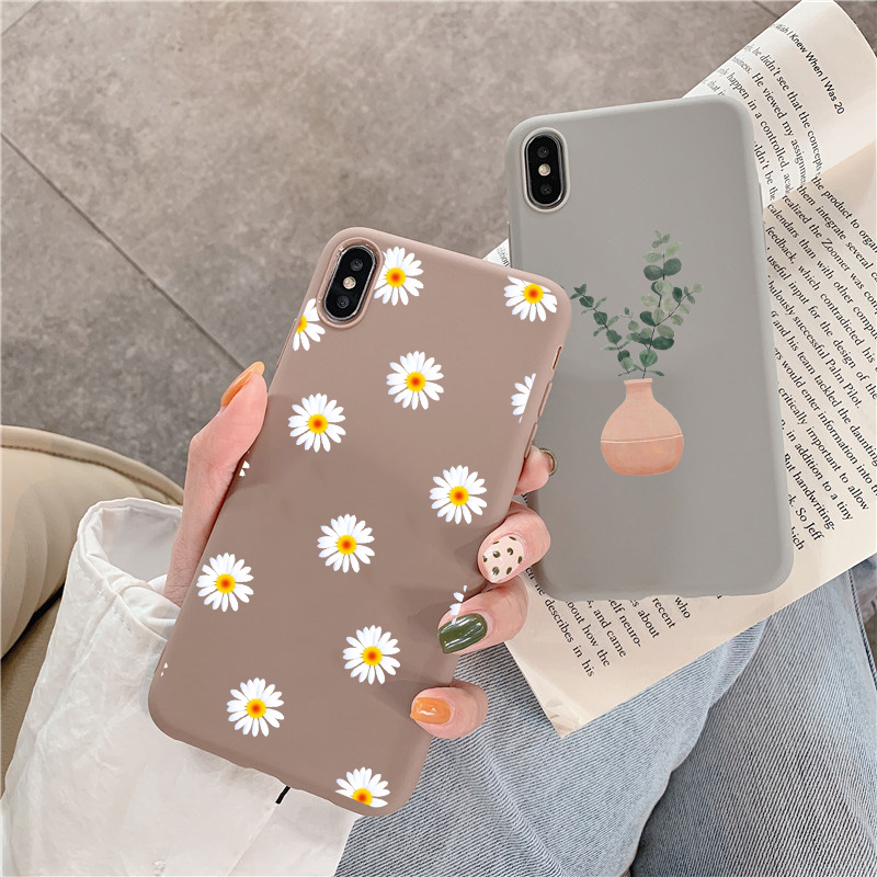 Cartoon Plant Case For Huawei Huawei Y9 Prime Mate 20 <font><b>10</b></font> 30 Lite Y7 Y6 Pro <font><b>2018</b></font> Cases For Huawei P30 P20 P10 Lite 2019 2017 Pro image