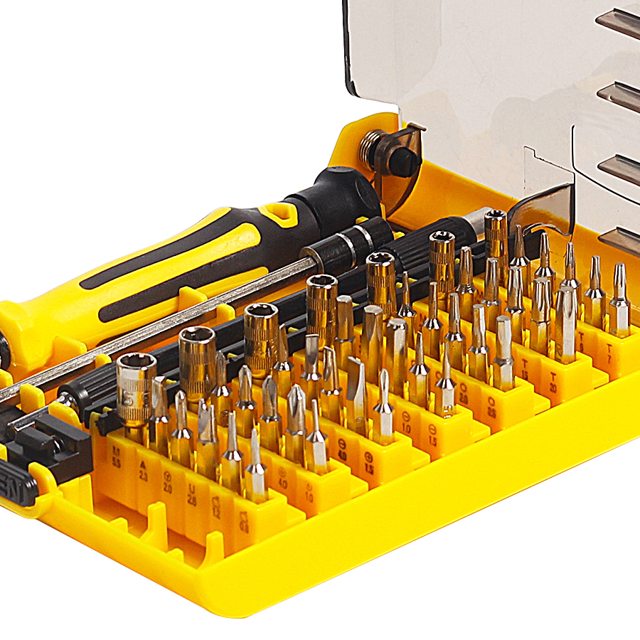 Precisión 45 en 1 Juego de destornilladores de mano magnéticos Torx - Herramientas manuales - foto 2