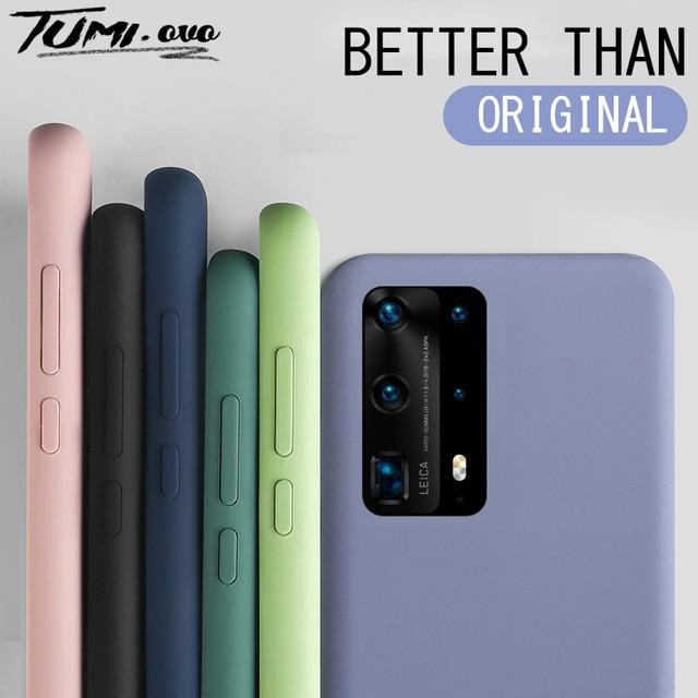 Liquid Silicone Candy Case For Samsung Galaxy A51 A71 A81 A91 A01 A11 A21 A31 A41 A50 A70 S20 Ultra S10 Plus Note 10 Lite Cover 1