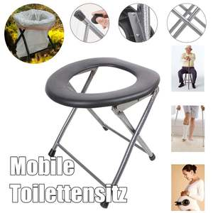 Folding Baby Potty pregnant woman Toilet Training Seat Travel Camping Outdoors Metal Portable Potty Toilet Seat for Kids Old Man(China)