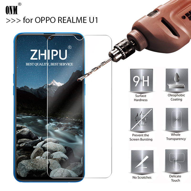 25 Pcs Tempered Glass For OPPO REALME U1 Glass Screen Protector 2.5D 9H Tempered Glass For OPPO REALME U1 Protective Film