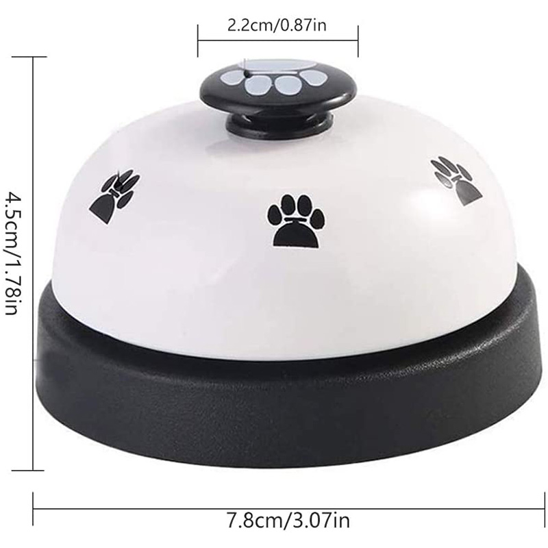 Pet Training Bells Dog Cat Training Eating Communication Press Call Bell Puppy Toilet Potty Training Interactive Toy-1