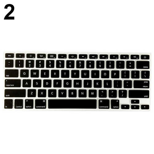 Wodoodporna klawiatura laptopa obejmuje miękkie etui do Apple MacBook Air Pro 13/15/17 cali Protector osłona klawiatury pyłoszczelna folia si