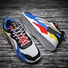 남성 운동화 2020 뜨거운 판매 패션 캐주얼 신발 남성 여성 편안한 통풍 Tenis Masculino Zapatillas Hombre 빅 사이즈 46
