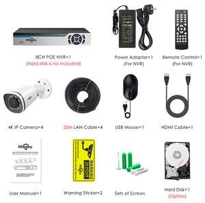 Image 5 - Hiseeu 8CH 4K POE NVR Kit H.265 Camera Quan Sát Hệ Thống An Ninh 8MP Ngoài Trời Chống Nước POE IP Âm Thanh Ghi Lại Video giám Sát Bộ