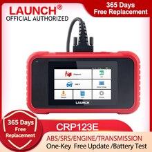 Lancio X431 CRP123E OBD2 EOBD ENG ABS Airbag SRS AT strumento diagnostico automatico OBDII lettore di codici Scanner aggiornamento gratuito PK CRP123X CRP123