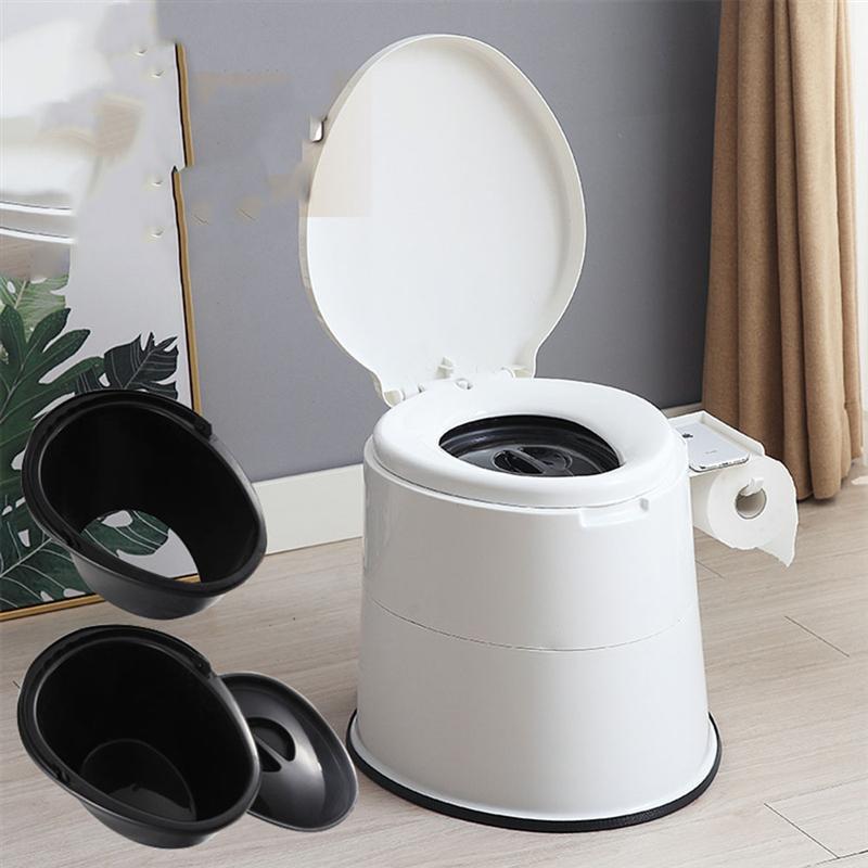 Portable Elderly Bathroom Toilet Chair Stable High Strength Toilet For Handicapped Child Pregnant Women Adult Home Elderly