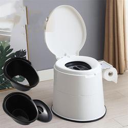 Silla de baño portátil para ancianos, inodoro estable de alta resistencia para niños discapacitados, silla para embarazadas, casa de adultos y ancianos
