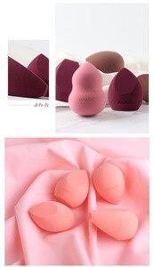Макияж основа Губка макияж Косметическая пуховка красота яйцо сухой/влажный не-Латекс замачивания губки инструменты аксессуары