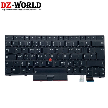 CFA New Original Canadian French Keyboard for Lenovo Thinkpad T470 A475 T480 A485 Laptop Teclado 01AX365 01AX447 01AX406 image