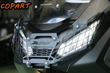For Honda X ADV XADV X-ADV 750 2017 2018 2019 Aluminum Motorcycle Modification Front Headlight Mesh Grille Guard Cover Protector