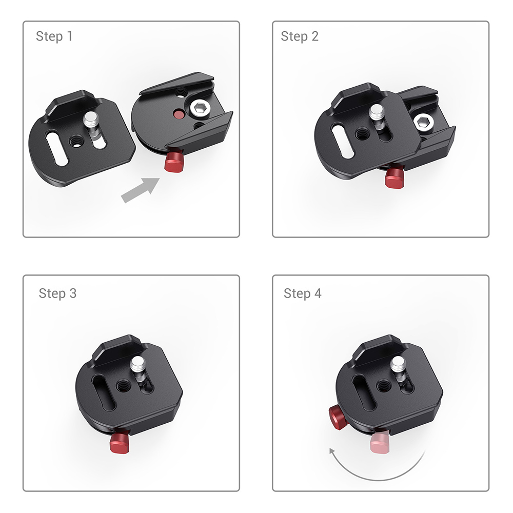 SmallRig universal DSLR camera clamp quick release mounting kit untuk - Kamera dan foto - Foto 5