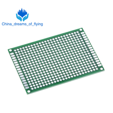 TZT  Breadboard Bread Board Prototype 5X7cm 432 Points Double side Super Highly quality Best pices  Green