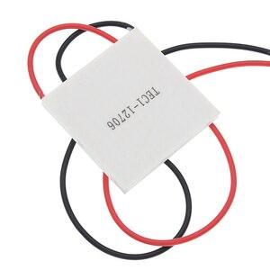 Image 4 - 50pcs 100% New the cheapest price TEC1 12706 TEC 1 12706 57.2W 15.2V TEC Thermoelectric Cooler Peltier (TEC1 12706)