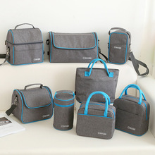 Cooler Lunch-Bag Picnic Storage-Accessories Bento-Box Food-Fruit-Container Insulation