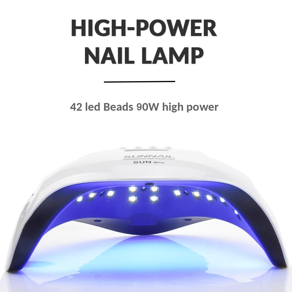 Ensemble de manucure avec lampe Led pour ongles
