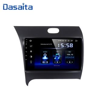 Dasaita 9 Android 10 Автомобильный GPS радио плеер для Kia Cerato K3 Forte 2012 2016 с восьмиядерным 4 Гб 64 Гб авто стерео Мультимедиа