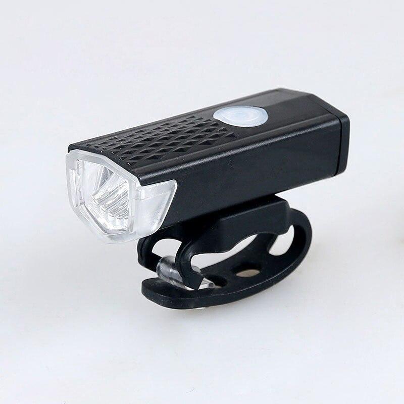 Bike Light USB Rechargeable Super Bright Light Bicycle Front Light Lamp Bike Headlight Waterproof Cycling LED Bike Headlight
