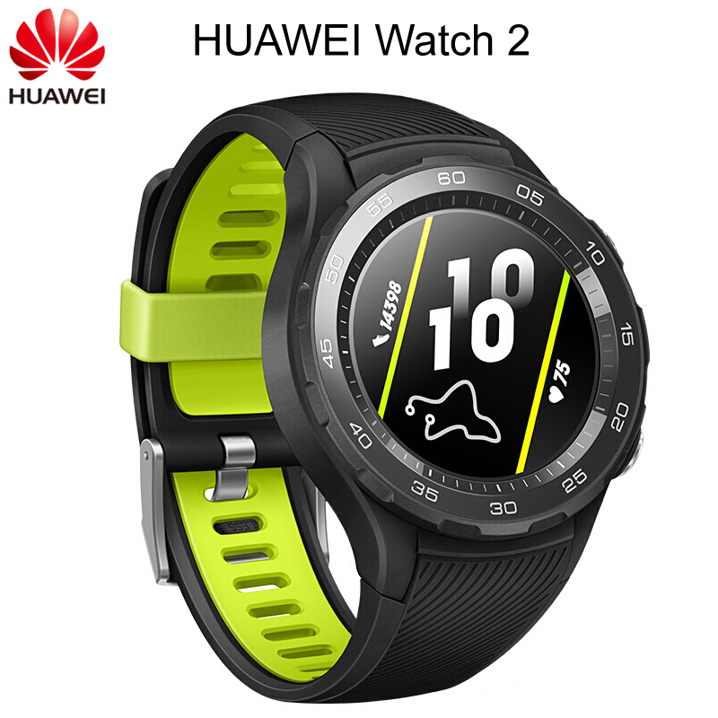 Global ROM Huawei Watch 2 Sport Smart watch Heart Rate Sleep Fitness Tracker For Android iOS IP68 Waterproof NFC GPS Clock