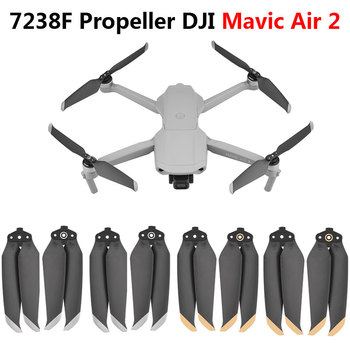 2 pairs 7238F Props for Drone Mavic Air 2 Propeller Foldable Quick Release Propellers Blades for DJI Mavic Air 2 Accessories 4 pairs dji original mavic 2 low noise propellers for mavic 2 pro mavic 2 zoom 8743 quick release propeller
