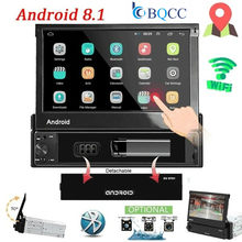 7 Inch Android 8.1 Autoradio 1 Din MP5 Speler + Wifi Gps Bluetooth Am/Fm Gratis Offline Kaart multimedia Playercam(China)