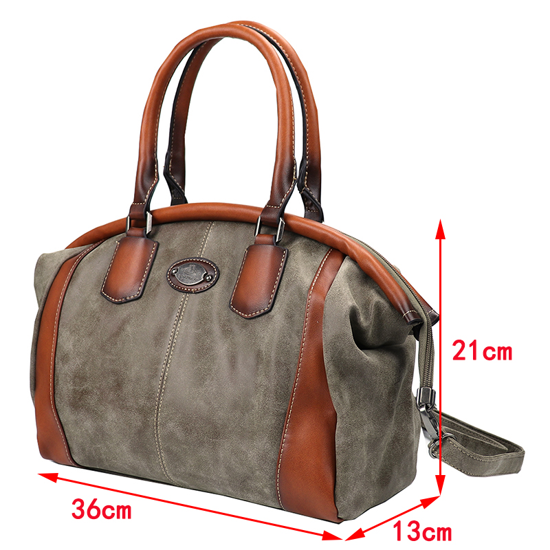 Luxury High Quality Leather Women Handbags Vintage Ladies Shoulder Bags Female Crossbody Bag Large Capacity Travel Casual Tote