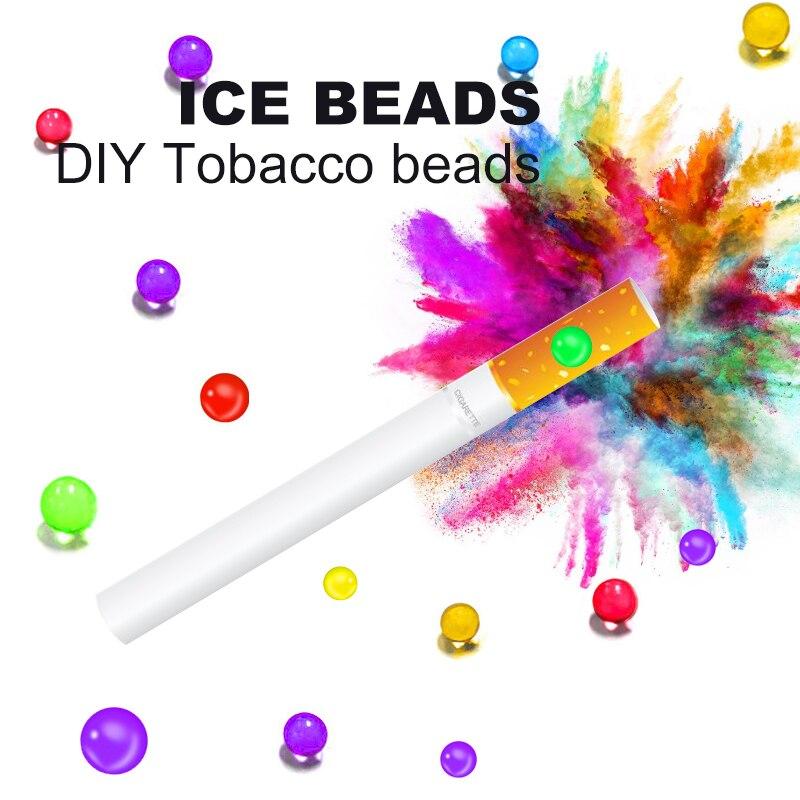 Nuovo sapore 200 pz sigarette fai da te pop perline menta frutta mentolo sapore popping accessori per fumatori titolare palle di fumo regali per uomini