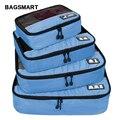 BAGSMART Atmungs 4 Set Verpackung Verpakking Würfel Reizen Bagage Organizer Cube set Fit 23 Tragen auf Koffer Reisetasche