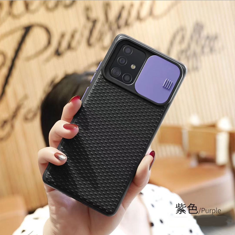 Camera Protection Case For Samsung Galaxy S20 Ultra S10 Lite A10S A20S A30S A50S A70S A51 A71 Slide Camera Lens Protection Case