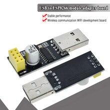 Ch340 usb para esp8266 ESP-01 wi fi módulo adaptador de comunicação sem fio do telefone computador microcontrolador para arduino