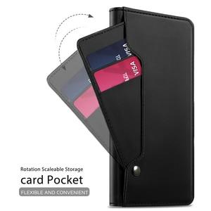 Image 3 - Чехол для OnePlus 8 Pro из искусственной кожи с откидной крышкой и подставкой, чехол с карманом на весь корпус, магнитная пряжка, зеркальный чехол для OnePlus 8, Чехол для карт