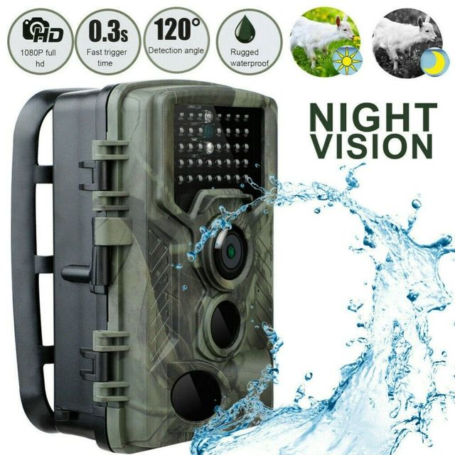20MP Hunting Video Camera 1080P Trail Camera Farm Home Security 0.3s Trigger Time Wildlife Hidden Trap New Photo Surveillance 1