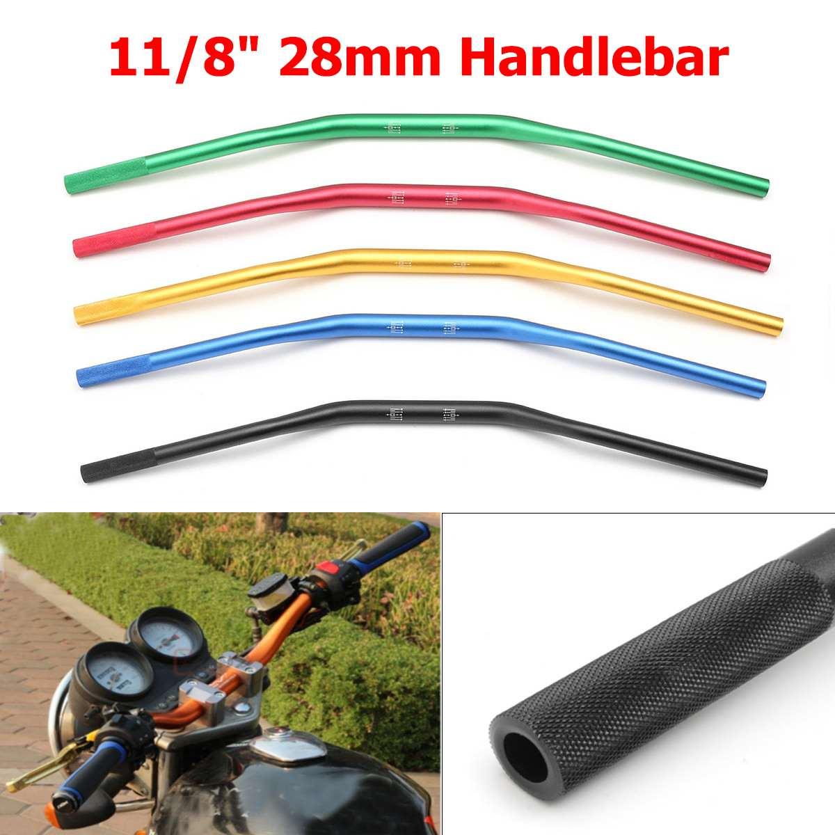 28mm 1 1 8inch Motorcycle Handlebar Handle Bar Universal For Scooter Dirt Pit Bike Quad ATV